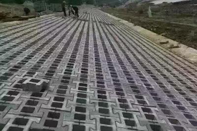 连锁护坡砖工程实例